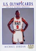 1992 Michael Jordan Olympic Card