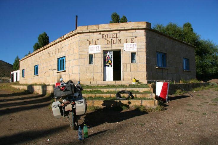 Viejo Hotel El Olnie en ruta 40