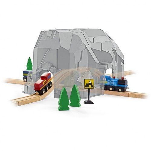 ベビーザらス限定 イマジナリウム 木製大きなターンテーブル&マウンテントレインセット【送料無料】-トイザらス・ベビーザらス オンラインストア|おもちゃ・ベビー用品の通販