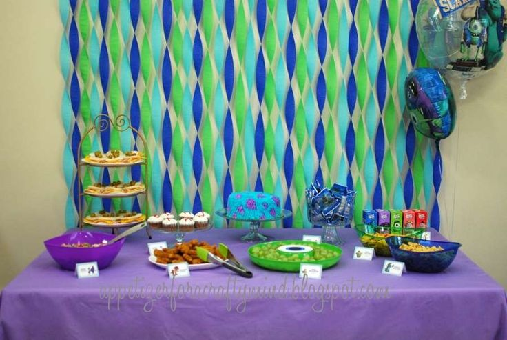monsters university Birthday Party Ideas | Photo 3 of 18