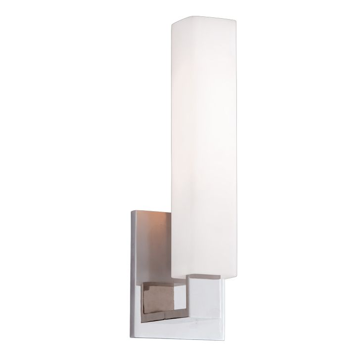 Livingston vanity wall light glass wallspolished nickelsconce lightingvanity lightingbathroom