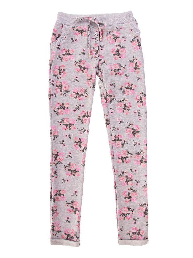 Spodnie damskie proste, ze ściągaczami   - XSD0151 - odzież damska - txm24.pl szare