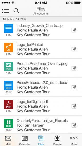 Una excelente aplicación para manejar tu email en #iPhone con las mismas herramientas que Outlook