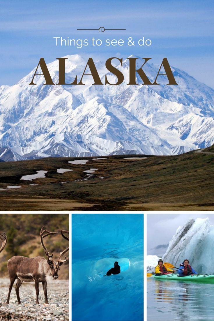 Alaska looks so gorgeous! Alaska Destinations - Things to do and see in Alaska