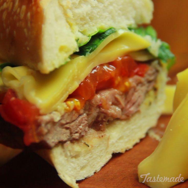 Beef Rump Sandwich recipe