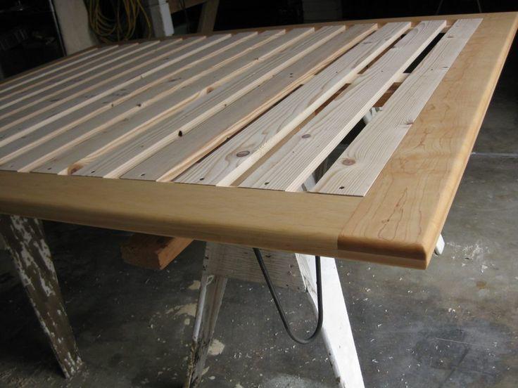 Basic Platform Bed Frame Plans