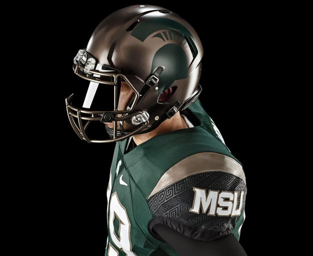 2015 Michigan State Spartans alternative football uniforms