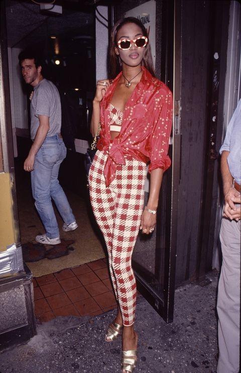 '90s celebrity style inspo: Naomi Campbell