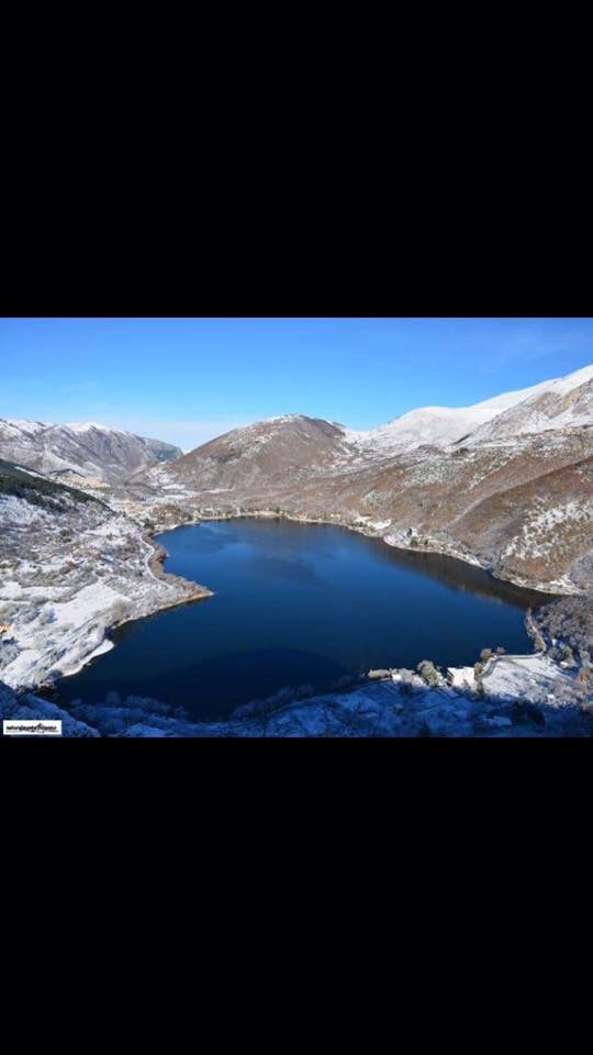 Scanno Lake in Abruzzo in Italy... one of the 20 heart shaped lakes in the world ... very romantic...