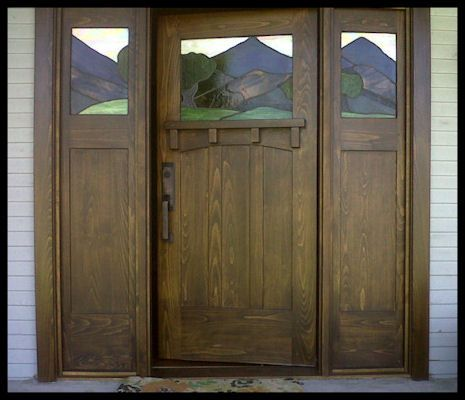136 best craftsman arts and crafts prairie images on for Arts and crafts style front door