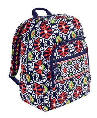 love this print! want the backpacks, but can't wait for my purse to get here! :) Campus Backpack - Sun Valley Vera Bradley