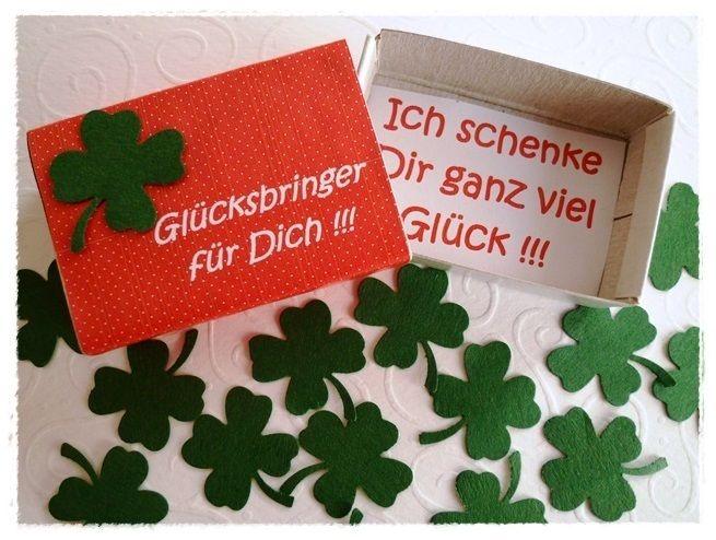 """Box+""""Glücksbringer+für+Dich""""+von+Kreativstübchen+Jansen+auf+DaWanda.com"""