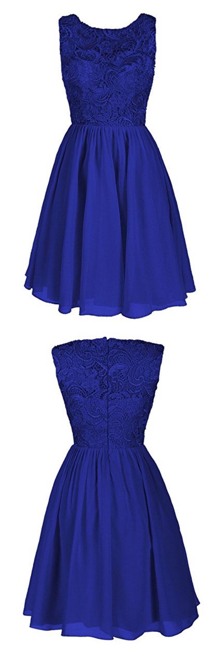 royal blue homecoming dresses, 2k17 homecoming dresses, lace homecoming dresses, homecoming dresses short, chiffon homecoming dresses, o-neck homecoming dresses, cocktail dresses, graduation dresses, party dresses,prom dresses #SIMIBridal #homecomingdresses