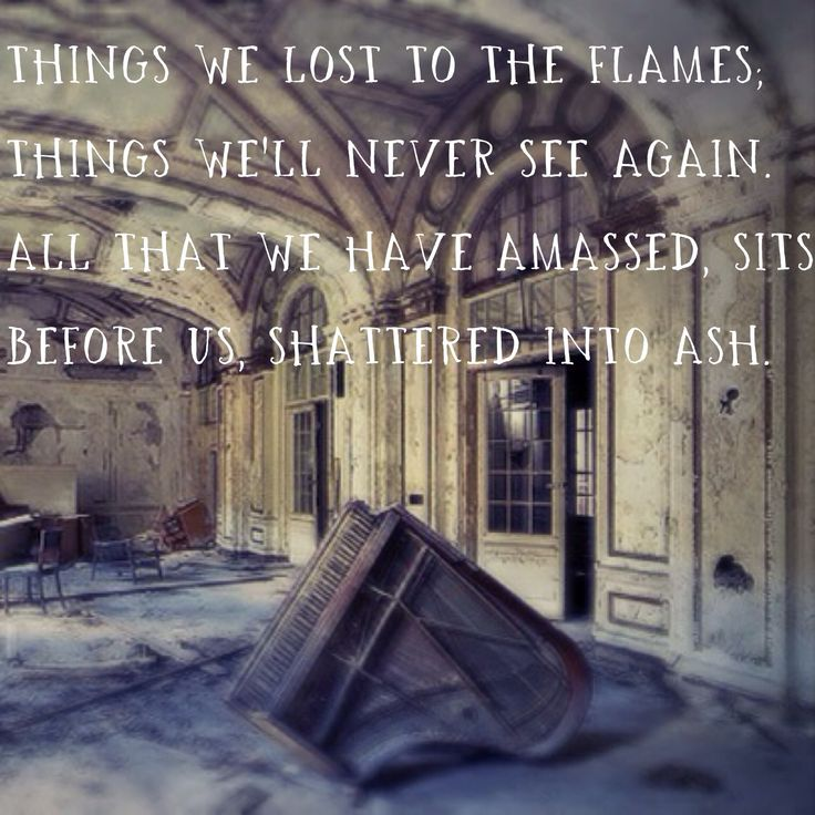 bastille things we lost in the fire song meaning