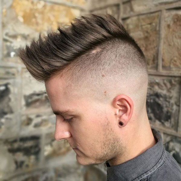 125 Best Haircuts For Men In 2020 Ultimate Guide Mohawk Hairstyles Men Haircuts For Men Long Hair On Top