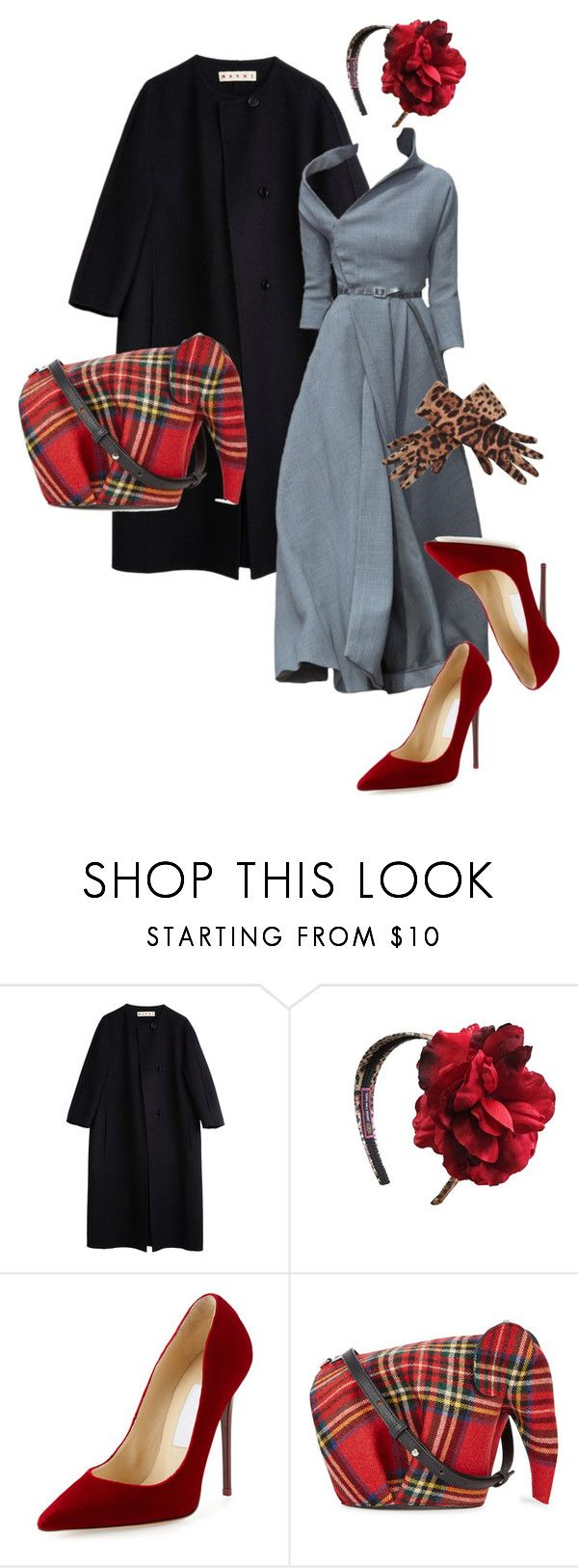 """""""play and stay on couture!!!!"""" by gonal ❤ liked on Polyvore featuring Marni, Christian Dior, Jamie Rae, Jimmy Choo, Loewe and Dolce&Gabbana"""