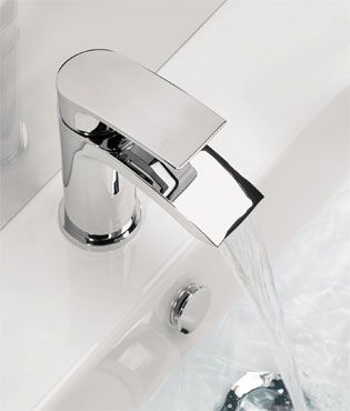 New on our Tecaz Clearance Ebay store; Add a touch of luxury with this curved Adora Flow basin tap. Over 50% off RRP