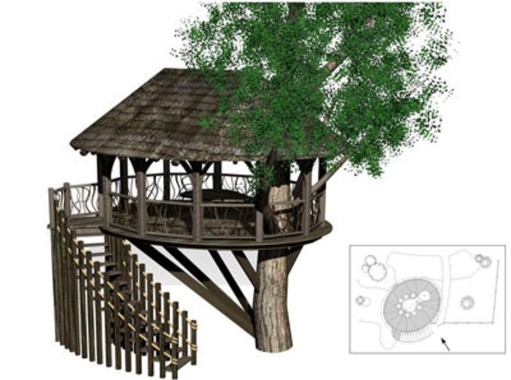 112 Best Images About Tree House On Pinterest
