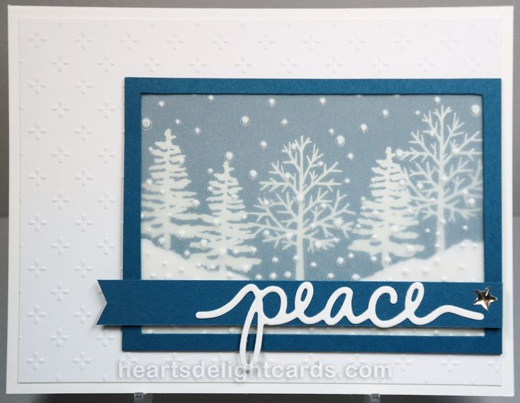 Totally Trees, Greetings From Santa - Heart's Delight Cards
