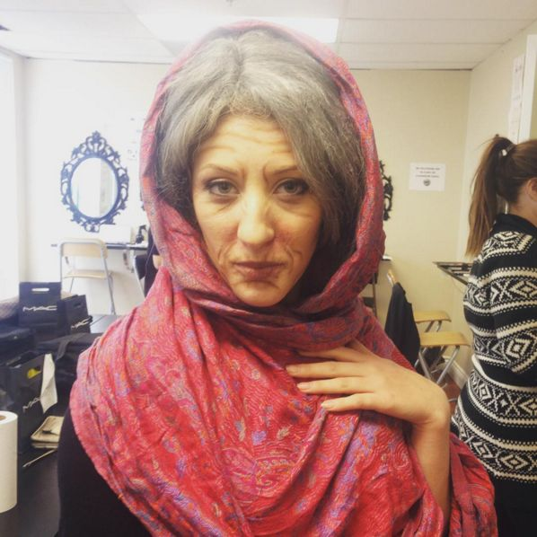 Old Age Make-up for theatre #Mississauga #MakeupArtist #MakeUpArtistSchool #BeautySchool #Canada