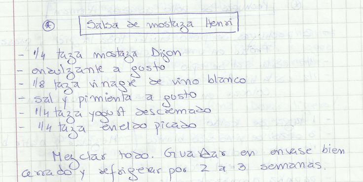 SALSA DE MOSTAZA HENRY   #SALADO #SALSAS #SALSA #MOSTAZA