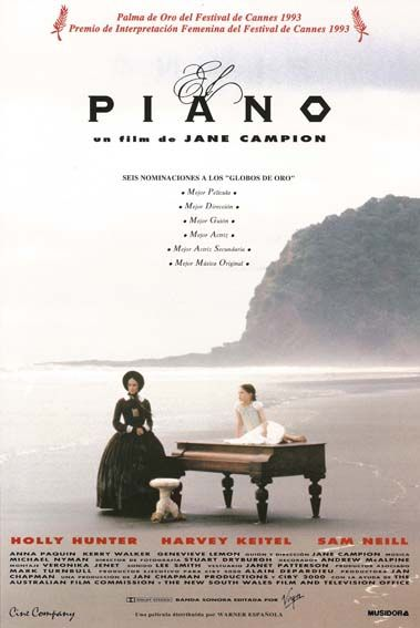 """El piano (1993) """"The Piano"""" de Jane Campion - tt0107822"""