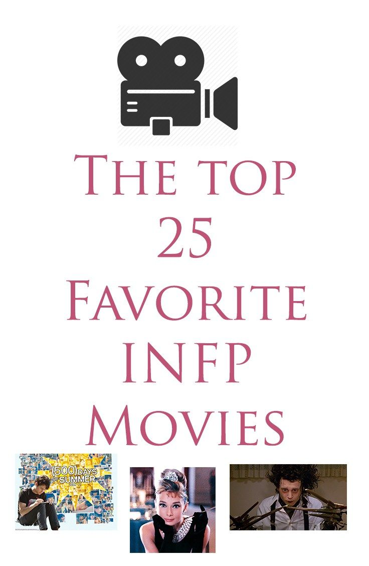 The Top 25 FAvorite INFP Movies- crazy how many of these are on my top ten list!