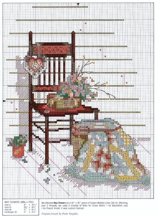 Gallery.ru / Фото #29 - 164 Quilts Cross Stitch - joobee