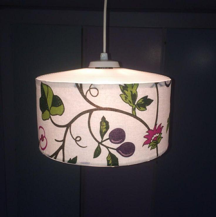 Klädde om en gammal lampa.