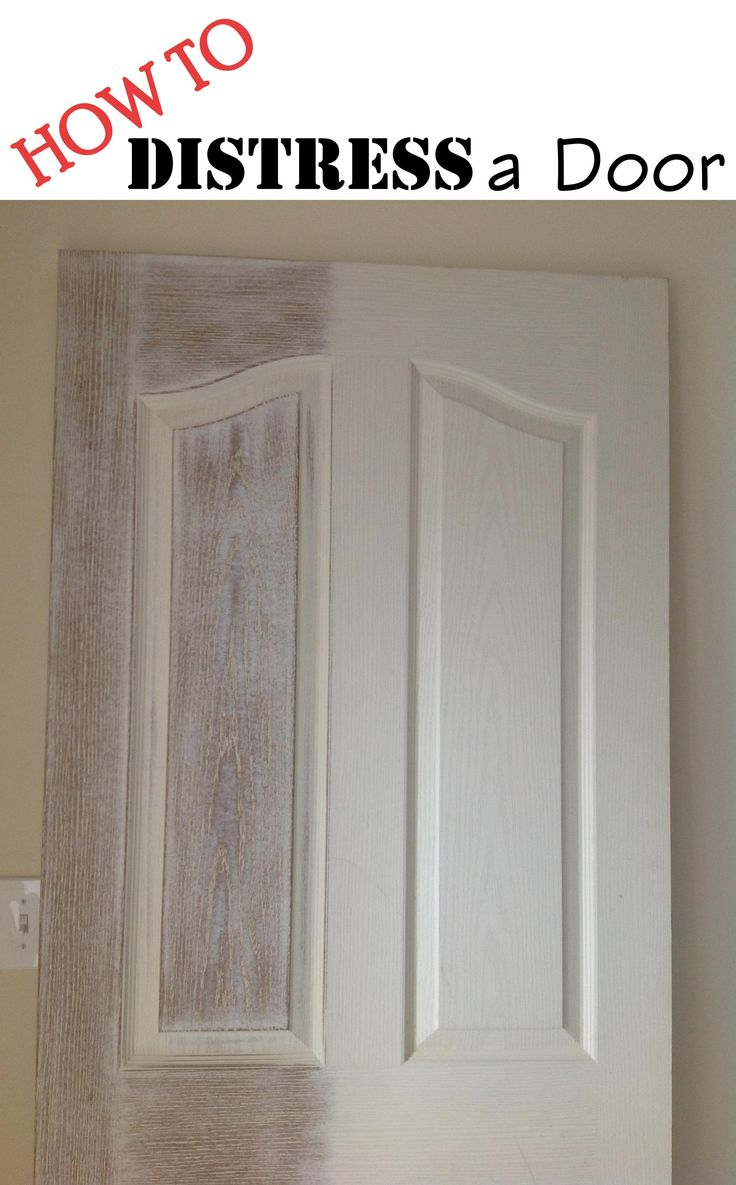 1000 ideas about distressed doors on pinterest big picture frames door headboards and for Distressed wood interior doors