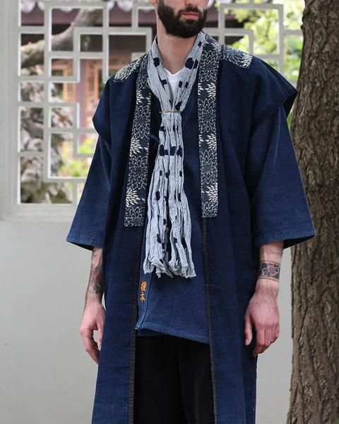 Check out these unique products by Kirikomade in Portland! Vintage Indigo Corduroy Vest