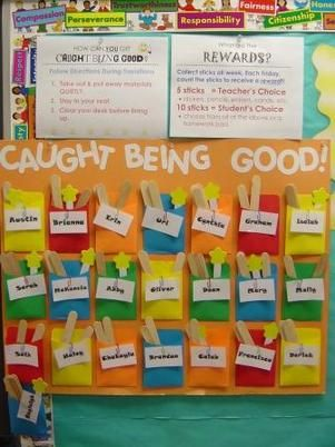 I like positive behavior plans...It isn't caught being naughty...We are all naughty sometimes.