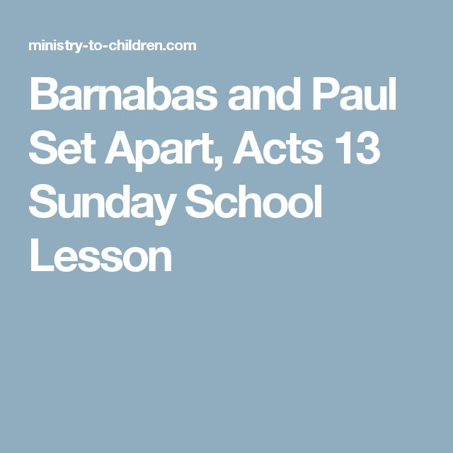 Barnabas: An Encouraging Early Church Leader - Biblical ...