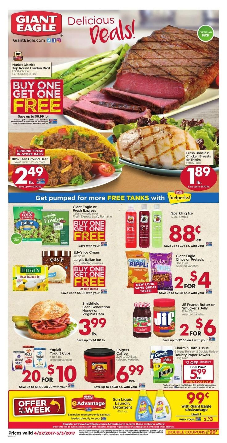 Giant Eagle Weekly Ad Circular April 27 - May 3 United States #grocery #savings #GiantEagle