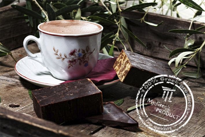 CAUTION: Do not be tempted it's UNEATABLE Chocolate soap  http://mygreekproduct.com/en/beauty-products/326-chocolate-soap-111elies.html