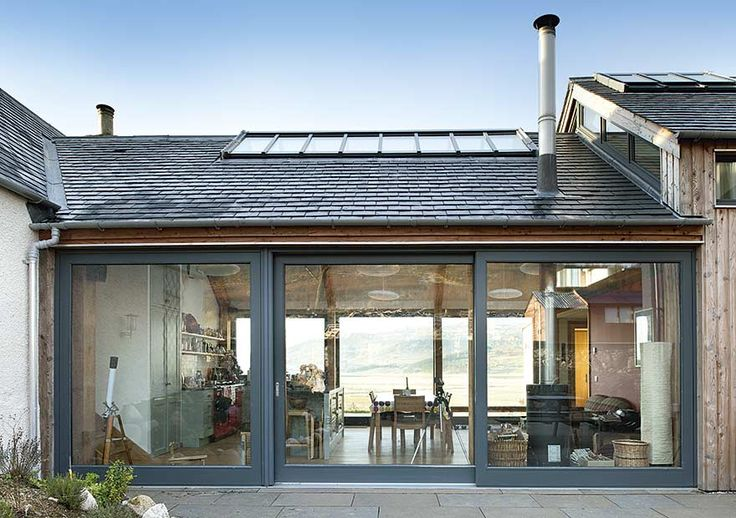 eco friendly house extensions scotland | ... cottage extension was no ordinary project | Homes & Interiors Scotland