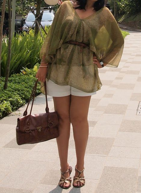 DIY Beach Kaftan