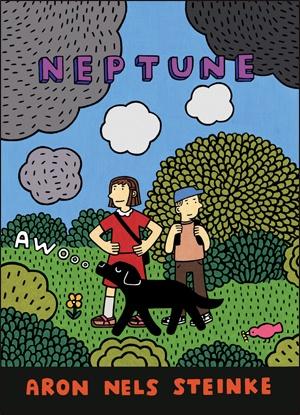 Neptune d'Aron Nels Steinke! Une super bd tous publics entre aventure et émotion. On aime chez Tropismes Jeunesse.