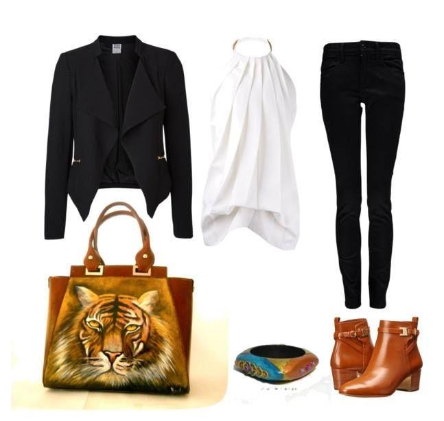 #borsedipinte #bracciale #paintedbag #orecchini #dipinti #accessori #fashion #outfits #accessorimaculati #borsetigre #felini