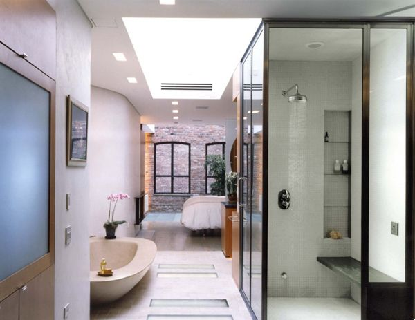 West Village Townhouse, New York, USA · Modern Bathroom DesignModern ...