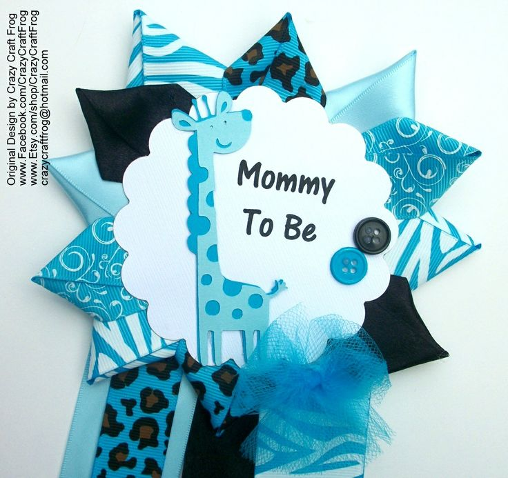 35 best Baby Shower Corsages images on Pinterest Baby shower