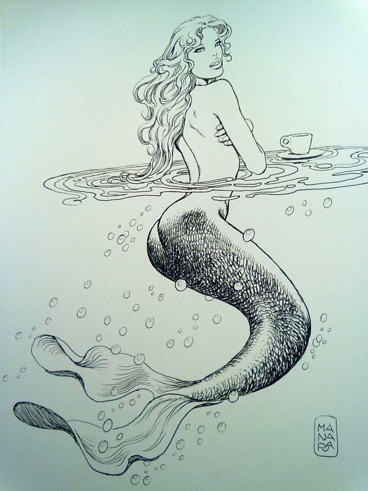 Mermaid -Manara