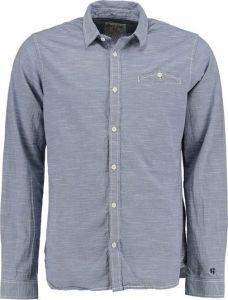 Deze mooie Garcia blouse vind je nu met €10,- korting via Aldoor! #mannen #heren #mode #overhemd #blouse #denim #blauw #mensfashion #shirt #sale