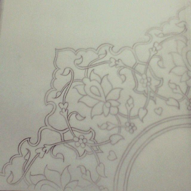 #islamicart #islimi #shamsa #art #pencil #instaart #islamicpattern #drawing #biomorphic #inspired