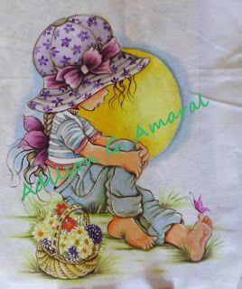 Arte * Vida: Sarah Kay Cesta de Flôres