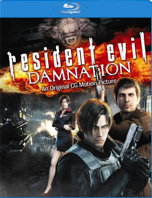 Resident Evil: Damnation (Blu-ray + UltraViolet) (Blu-ray 2012) | DVD Empire