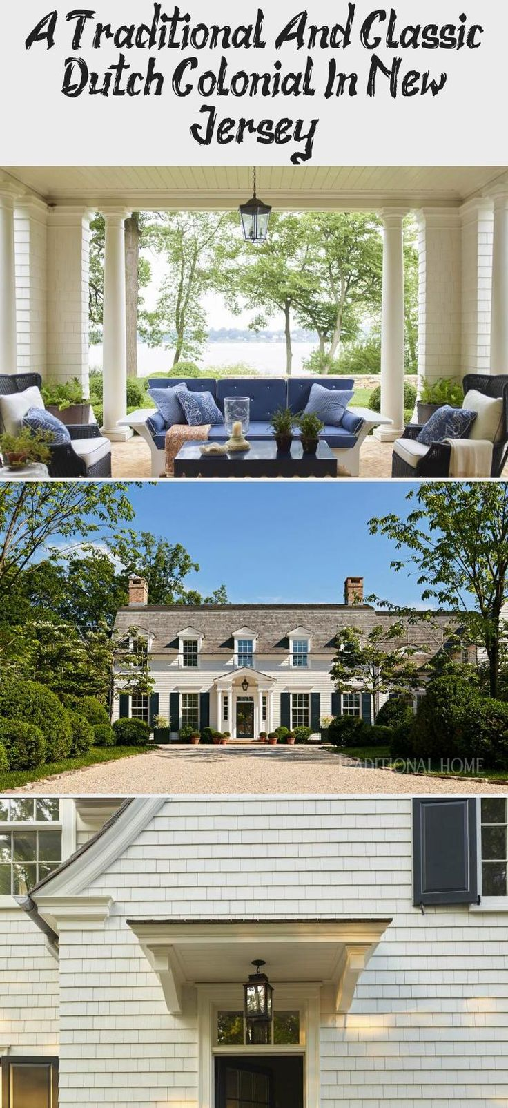 A TRADITIONAL AND CLASSIC DUTCH COLONIAL IN NEW JERSEY