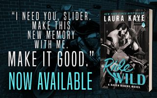 I Heart YA Books: #BlogTour #NewRelease #Giveaway for #Contemporary MC #Romance 'Ride Wild (Raven Riders #3)' by Laura Kaye @laurakayeauthor