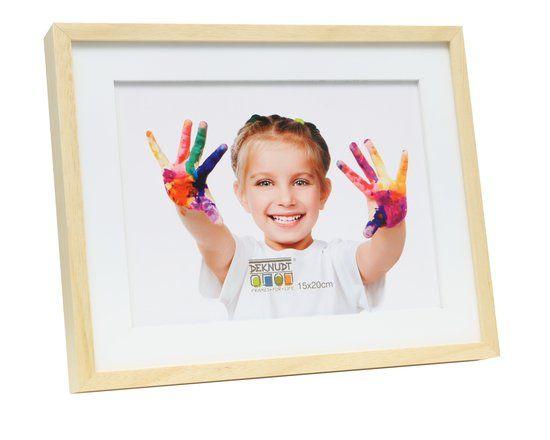 Deknudt Frames Fotokader naturel met witte houten pptt