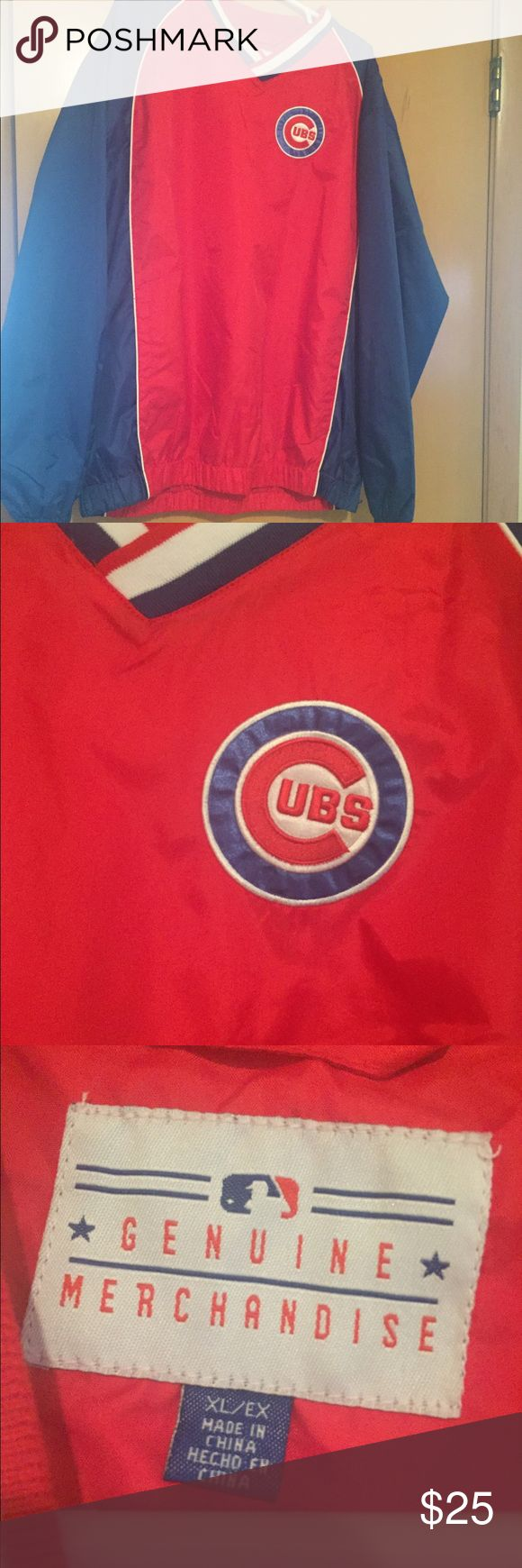 Cubs windbreaker New never worn Cubs wind/rain jacket MLB merchandise Jackets & Coats Utility Jackets